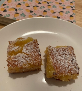 Lemon Bars squares